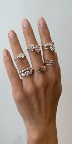 SO MANY ENGAGEMENT RING STYLES TO CHOOSE FROM! Selecting or designing an engagement ring can be challenging, but it can also fun and simple when it's a reflection of your personal style. Let us guide you to find the perfect Sofia Kaman piece to treasure every day. Take our 15 question Engagement Ring Quiz and discover your style!