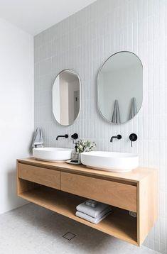 Inspiratie voor een Scandinavische badkamer #interieur #inspiratie