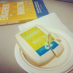 "Yummm, this Engagement Marketing cookie is just as ""sweet"" as the book!"