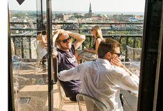Atelje Roof Top Bar in Helsinki by Visit Finland Holidays In Finland, Visit Helsinki, Roof Repair, Rooftop Bar, Interesting History, Beautiful Buildings, Capital City, Norway, Sweden