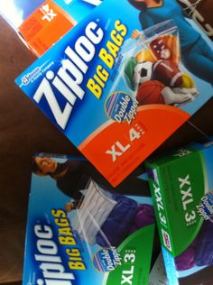 Dorm packing help: Buy Ziploc storage bags in XL and XXL (you can find them in Target and Walmart).