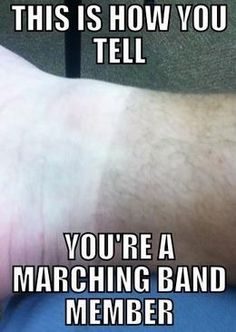 Marching band problems....