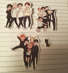 #haikyuu #stickers are so adorable! #hmniay @hymnia