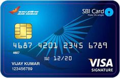 Air India | VISA Signature | SBI