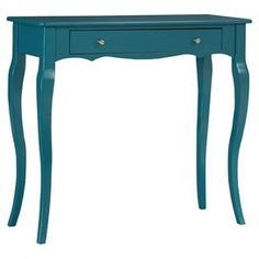 Doris Console Table in Cyan