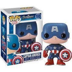 Avengers Movie Captain America Pop! Vinyl Bobble Head