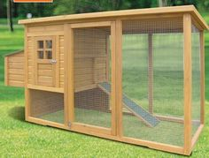 Rabbit Hutch Blueprints... I would use for a small dog or a cat. Attach to the house with a small cat/dog door.