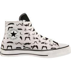f84e608f48 Converse - Chuck Taylor All Stars - Moustache. ohmygosh mom i neeeeeeeeeed  thhheeemmmmmmm