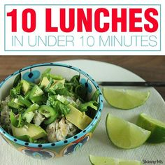 10 Lunches in Under 10 Minutes