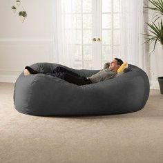 """De nuestros modelos más vendidos """"TOOT"""". Perfecto y cómodo para cualquier espacio. Giant Bean Bags, Cool Bean Bags, Large Bean Bags, Bean Bag Bed, Bean Bag Chair, Cover Style, Bed Reviews, Sleeper Sofa, Sofa Beds"""