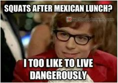 Dangerously is my middle name.
