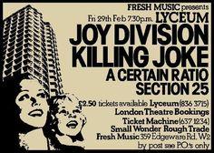 Joy Division / Killing Joke / A Certain Ratio / Section 25