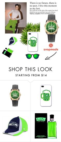 """""""Snapmade #9/5"""" by s-o-polyvore ❤ liked on Polyvore featuring '47 Brand, Liz Claiborne, Illesteva, men's fashion and menswear"""