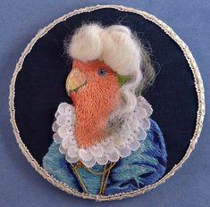 HL Tyler's Exquisite Portrait of a Baroque Lovebird