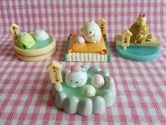 San-X Sumikko Gurashi Small Beauty Parlor Miniature Doll Furniture #1