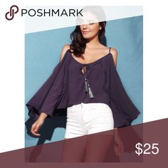 Cut Out Loose Blouse Material: Polyester Clothing Length: Regular Sleeve Length: Half Collar: Slash Neck Pattern Type: Solid Style: Casual Season: Summer Weight: 0.143kg R.E.A.L Clothing Tops Blouses