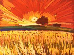 Now listing on eBay! Original Tim Bruneau pastel on Colourfix paper! Bids start at 1 penny! Artist Landscape Soft Pastel Original Tim Bruneau Impressionism 2000-Now #Impressionism