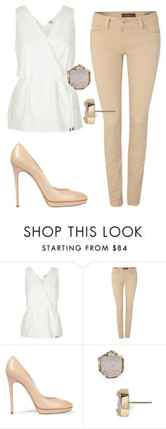 """Untitled #6475"" by ana-sheeran-styles ❤ liked on Polyvore featuring Salsa, Casadei and Kendra Scott"