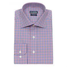 Chemise coupe classique à carreaux multicolores #chemise
