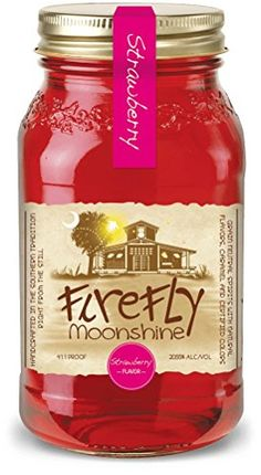 Firefly Moonshine Strawberry Vol. Echter SÃdstaaten Moonshine aus So… Firefly Moonshine Strawberry Vol. Genuine Southwestern Moonshine from South Carolina USA. Cherry Moonshine Recipe, Peach Moonshine, Homemade Moonshine, Apple Pie Moonshine, Moon Shine, Carolina Usa, Homemade Still, Cherry Bounce, Marachino Cherries