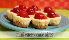 Looking for a little dessert recipe to celebrate the new year with? Here's an easy mini cheesecake recipe that you can whip up and make ahead. INGREDIENTS 1 sleeve off Honey Graham Crackers 4-5 ounces butter 16 ounces cream cheese, softened (two 8 oz...