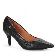 Sapato Scarpin Feminino Vizzano - Preto
