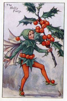 Autumn Flower Fairies by Cicely Mary Barker. Published first in Flower Fairies of the Autumn, London, Blackie, There are 24 Autumn Fairy Prints. Cicely Mary Barker, Flower Fairies, Fairy Land, Fairy Tales, Christmas Art, Vintage Christmas, Xmas, Christmas Jewelry, Illustrations Harry Potter