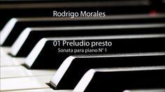 01 Preludio presto - Sonata para piano N° 1