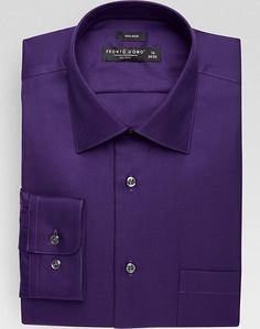 Pronto Uomo Purple Modern Fit Dress Shirt