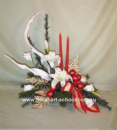 Christmas floral arrangements | modern christmas design hello dear subscribers christmas is almost ...