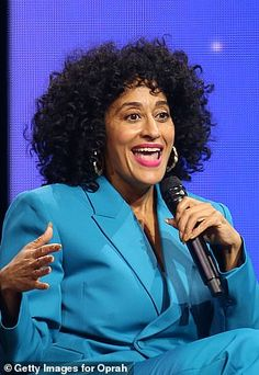 Tracee Ellis Ross shares tear-jerking story of her mom Diana Ross's reaction to her singing   Daily Mail Online