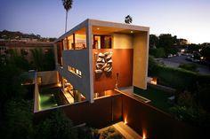 Casa arquitectónica en California