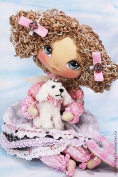 Коллекционные куклы ручной работы. Ярмарка Мастеров - ручная работа Сесиль. Handmade.