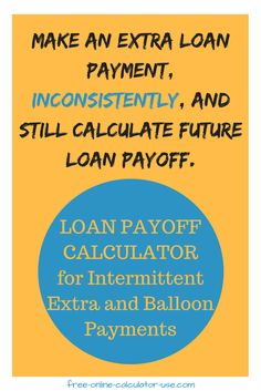 amortization schedule with a balloon payment