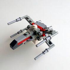 Figuras Star Wars, Lego Star Wars Mini, Micro Lego, Lego Ship, Lego Spaceship, Amazing Lego Creations, Lego Pictures, Lego Mechs, Lego Worlds