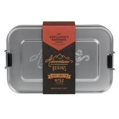 Metal Lunch Box - Large