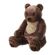 VANDRING BJÖRN Soft toy IKEA Timeless soft toy that stimulates your child's imagination and encourages a love for nature.