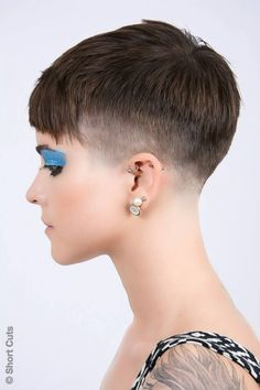 194 Best Short And Extreme Haircuts For Women Images Short Hair