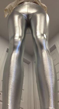 Metallic shiny disco spandex pants leggings Spandex Pants, Disco Pants,  Leggings Are Not Pants 8373ebdcec