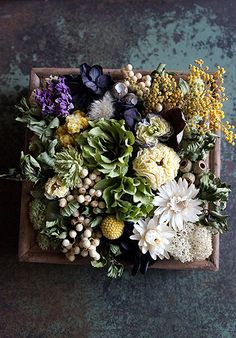 Flower Picture Frames, Flower Frame, Dried Flower Wreaths, Dried Flowers, Flower Boquet, Dried Flower Arrangements, Sola Flowers, Dry Plants, Diy Resin Crafts