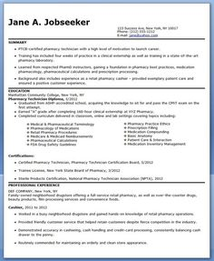 Pharmacy Technician Resume Sample (No Experience)  Pharmacy Tech Resume