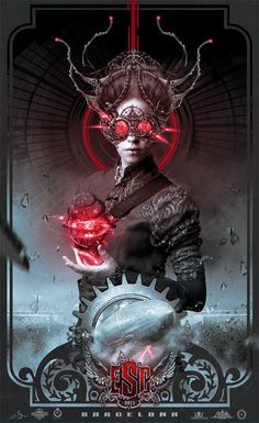 Fabulous Art by Nekro #Dark #Surreal #Steampunk