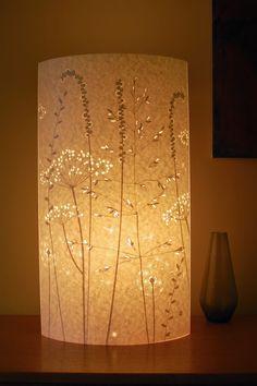 Hannah Nunn: Paper Meadow floor lamp at Elmet Farmhouse