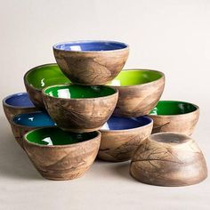 With good food and a nice table a simple lunch becomes a little party! This beautiful bowl is made of white clay with a food safe glossy glaze. (can be used in contact with food). Pottery bowls is a very multifunctional and easy to use thing. In depend of the size, there are several