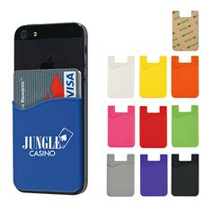 $1.54      Adheres To Back Of Your Phone With Strong 3M Adhesive     Perfect For Carrying Identification, Room Keys, Business Cards, Cash Or Credit Cards     Won't Leave Marks When Removed     Available In Ten Attractive Colors http://www.allsorts-online.com/technology/promotional-phone-card-sleeve.html #promotionalproducts