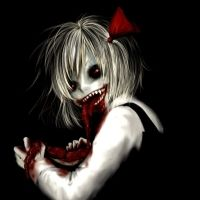 Dark Horror Anime Macabre Blood Guts Evil Girl Wallpaper At Dark Wallpapers Anime Halloween, Creepy Images, Creepy Art, Creepy Eyes, Creepy Stuff, Dark Anime, Evil Anime, Anime Devil, Arte Horror
