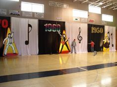 formal dance decorations  | One of our many popular themed dances that transformed an ordinary gym ...