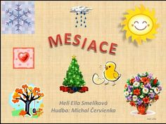 Mesiace Slovak Language, My Roots, Science Experiments, In Kindergarten, Diy Tutorial, Art For Kids, Homeschool, Education, Youtube