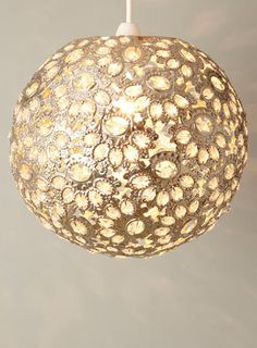 Ornate Champagne Ball Easyfit Pendant