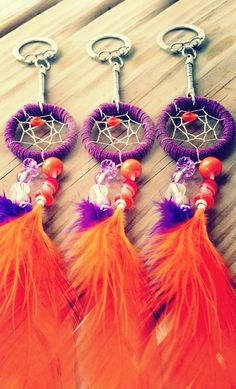 Hey, I found this really awesome Etsy listing at https://www.etsy.com/listing/156526728/dreamcatcher-feather-keychain